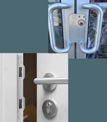 DOOR & FRAME REINFORCEMENT